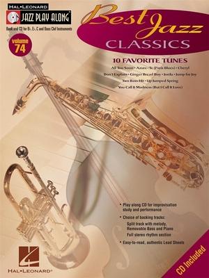 Jazz play along / Jazz Play-Along Volume 74: Best Jazz Classics / Taylor, Mark (Arranger); Roberts, Jim (Arranger) / Hal Leonard