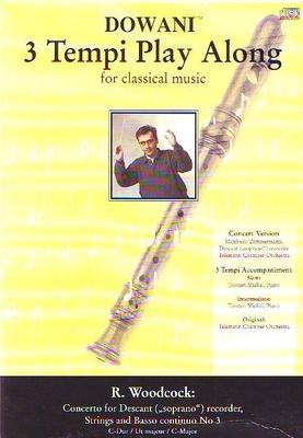 3 Tempi play along / Concerto no 3 en do majeur / Woodcock Robert / Dowani
