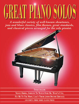 Great piano solos / Great Piano Solos – The Red Book /  / Wise Publications