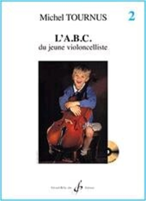 L'ABC du jeune violoncelliste vol. 2 / Tournus Michel / Billaudot
