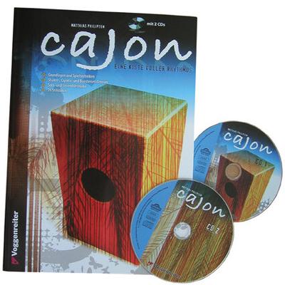 Cajon – Eine Kiste voller Rhythmus (deutsch) / Matthias Philipzen / Voggenreiter