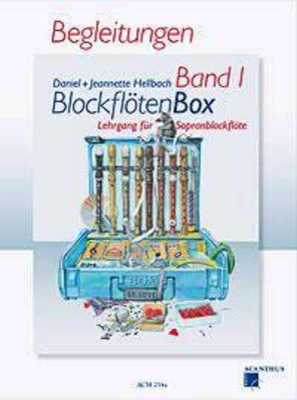 Blockflötenbox Vol. 1 Begleitungen für Sopranblockflöte / Hellbach Daniel / Hellbach Jeann / Acanthus
