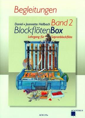 Blockflötenbox Vol. 2, Klavierbegleitung / Hellbach Daniel / Acanthus