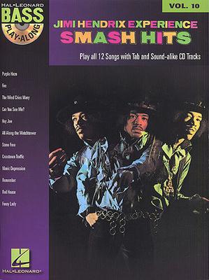 Bass Play-Along / Bass Play Along Volume 10: Jimi Hendrix Smash Hits (Book and CD) / Hendrix, Jimi (Artist) / Hal Leonard