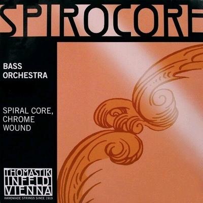 Thomastik Spirocore moyen Contrebasse orchestre 3/4 Sol