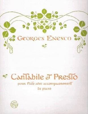 Cantabile et presto / Enesco Georges / Enoch