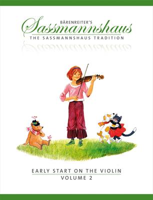 Bärenreiter's Sassmannshaus / Early Start on the Violin 2 A violin method for children age four and older  Egon Sassmannshaus  Violin Buch  BA9677 / Sassmannshaus Egon & Kurt / Bärenreiter
