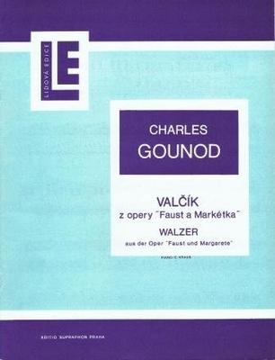 La valse de Faust / Gounod Charles / Supraphon