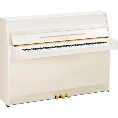 Yamaha Pianos Acoustic B1 PWH Blanc poli-brillant 109cm