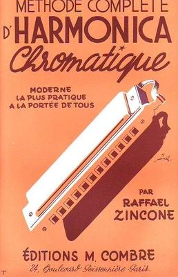 Harmonica chromatique / Zincone Raffael / Combre