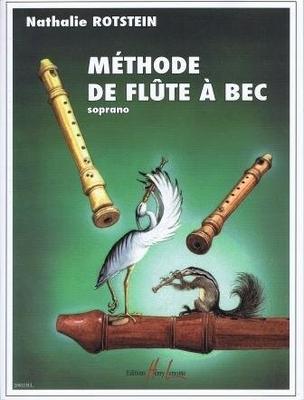Méthode de flûte à bec soprano Nathalie Rotstein / Rotstein Nathalie / Henry Lemoine