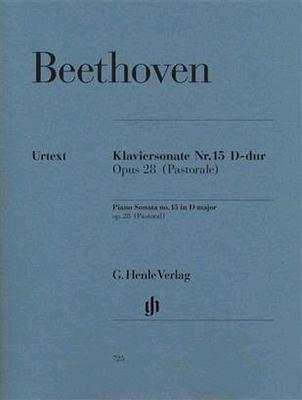 Sonate Nr. 15 en ré majeur op. 28 'Pastorale' / Beethoven Ludwig van / Henle