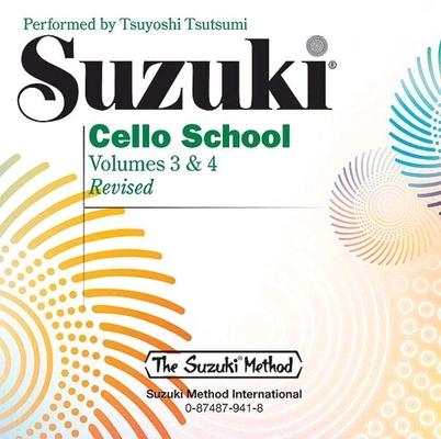 Suzuki Cello School vol. 3 & 4 le CD / Suzuki Shinichi / Alfred Publishing