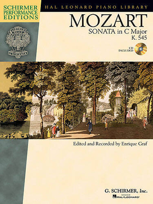 W.A. Mozart: Sonata In C K.545 (Book And CD) / Mozart, Wolfgang Amadeus (Composer); Graf, Enrique (Editor) / G. Schirmer