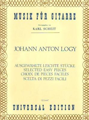 Ausgewählte leichte Stücke / Logy Johann Anton / Universal Edition