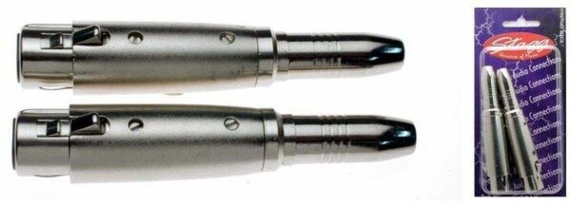 Stagg AC-XFPFH XLR Femelle / Jack Femelle 6.35