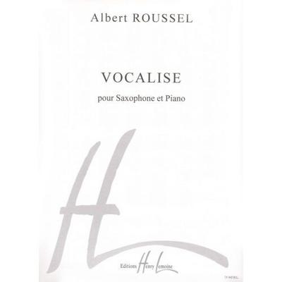 Vocalise / Roussel Albert / Henry Lemoine