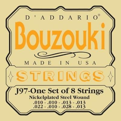 D'Addario D'Addario: Bouzouki Strings, Nickelplated/Steel Wound