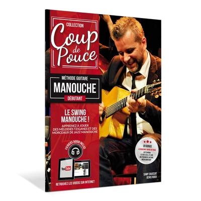 »Coup de Pouce» guitare manouche avec DVD et fichiers audio inclus – Nouvelle édition /  / Editions Coup de pouce