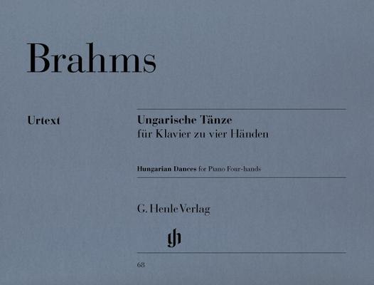 Henle Urtext Editions / Danses hongroises N 1-21 HN 68Hungarian Dances WoO 1 / Brahms Johannes / Henle