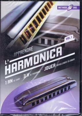 Apprendre l'harmonica, vol. 1 / Cornelissen Marc / Musicatem