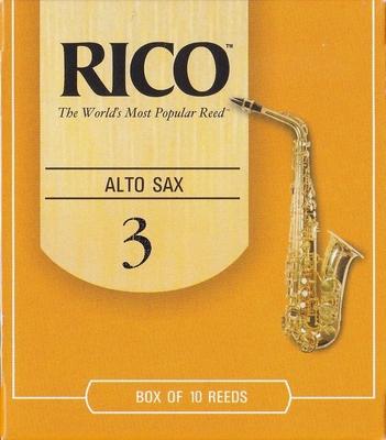 Rico Sax alto mib 3 Box 10 pc