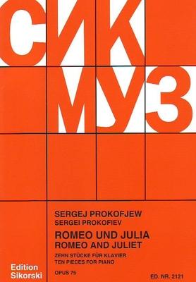 10 pièces de Roméo & Juliette / Prokofiev Serge / Sikorski