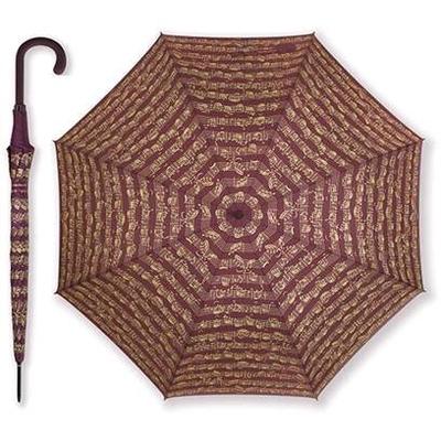 Vienna World Parapluie avec portées bordeauxBurgundy, Polyester, 86 cm