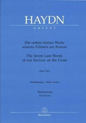 Les 7 paroles du Christ HOB XX:2 / Haydn Joseph / Bärenreiter