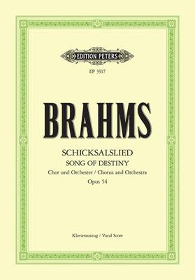 Schicksalslied Op.54 / Brahms Johannes / Peters