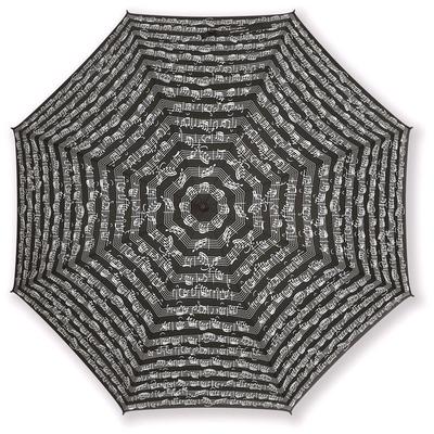 Vienna World Parapluie avec portées noirBlack, Polyester, 86 cm