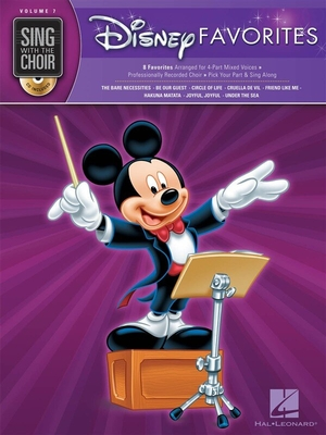 Sing With The Choir Volume 7: Disney Favorites (Book And CD) /  / Hal Leonard