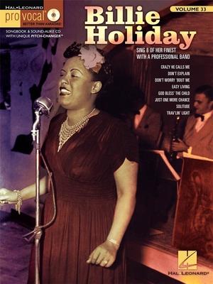 Pro Vocal / Billie Holiday Pro Vocal Women's EditionVolume 33 / Holiday Billie / Hal Leonard