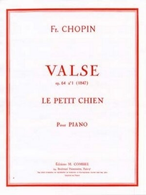 Valse (Le petit chien) / Chopin Frédéric / Combre