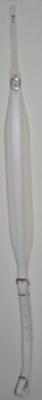 Fuselli Bretelle Lusso 60 mm R velours blanc