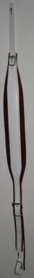 Fuselli Bretelles : 70 mm/R cuir et velours blanche et rouge