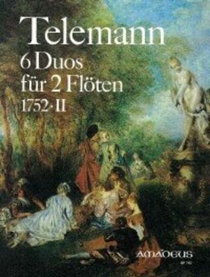 6 duos TWV 40:124-129 / Telemann Georg Philip / Amadeus