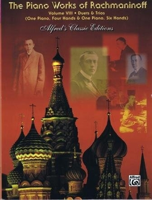Piano Works Vol. 8 / Rachmaninoff Serge / Alfred Publishing