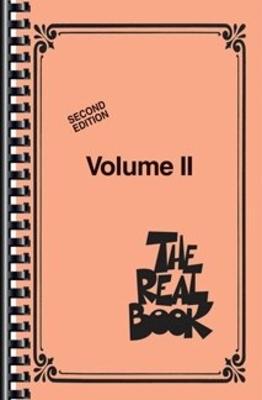 Fake Book / The Real Book – Volume II – Mini Edition C Instruments   Hal Leonard Flute, Oboe, Violin or C-Melody Instruments Recueil Fake Book Jazz English /  / Hal Leonard