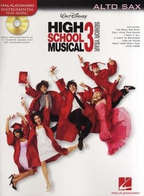 Instrumental Play-Along / High School Musical 3, Alto Saxophone /  / Hal Leonard