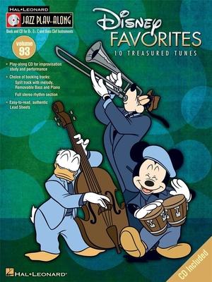 Jazz play along / Jazz Play-Along Volume 93: Disney Favourites / Taylor, Mark (Arranger) / Hal Leonard