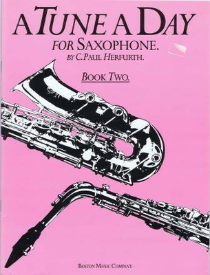 A Tune A Day For Saxophone Book Two / Herfurth, Paul (Artist) / Boston Music