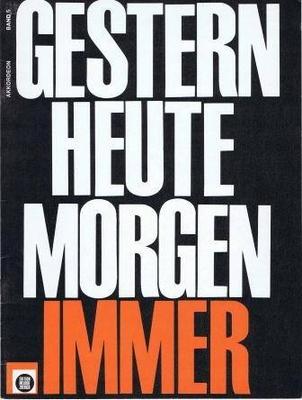 Gestern Heute Morgen immer, vol. 5 /  / Melodie