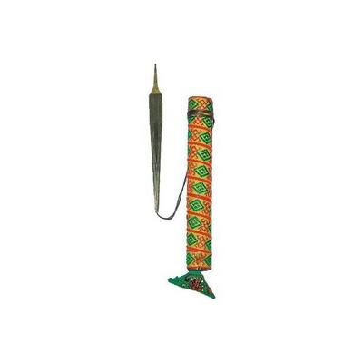 Afroton Guimbarde trois lames avec boite en bois