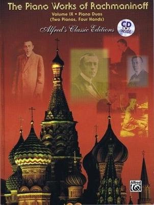 Piano Works Vol. 9 / Rachmaninoff Serge / Alfred Publishing