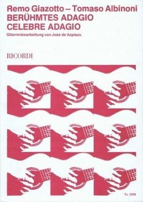 Adagio / Albinoni-Giazotto / Ricordi