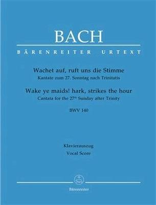 Kantate BWV 140 – Wachet auf ruft uns die Stimme / Bach Jean Sébastien / Bärenreiter