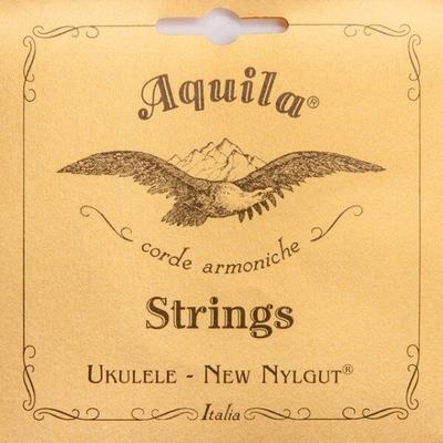 Aquila 17U – New Nylgut, Ukulele String Set, Tenor (g-Cc-E-Aa), 6-String (1 Red String)