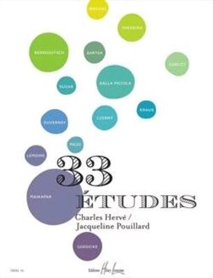 33 études / Hervé et Pouillard / Henry Lemoine