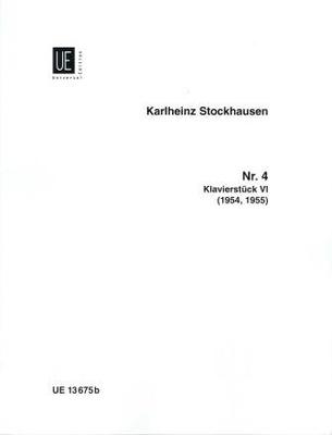 Klavierstück no 6 / Stockhausen Karl Heinz / Universal Edition